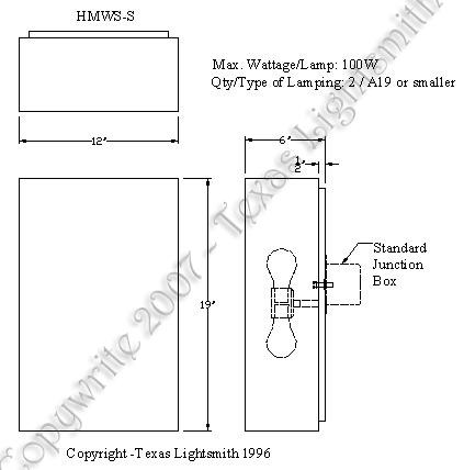 HMWS-S Spec Drawing