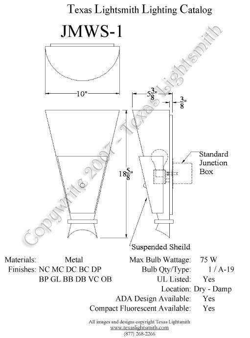 JMWS-1 Spec Drawing