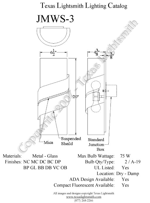 JMWS-3 Spec Drawing