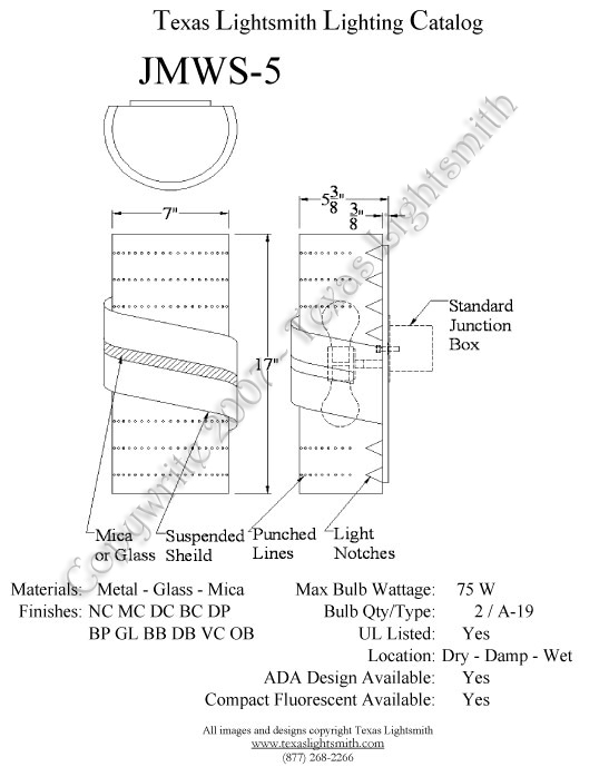 JMWS-5 Spec Drawing