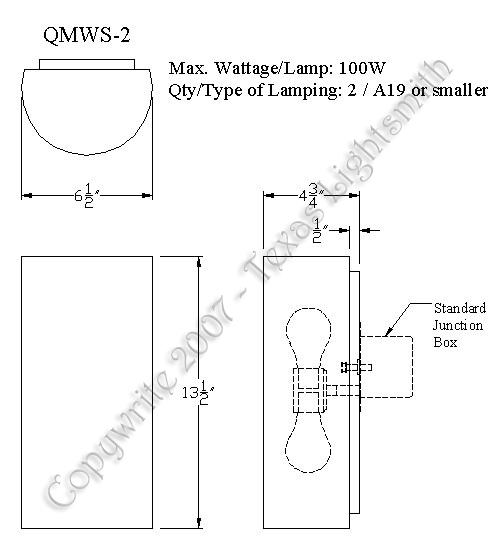 QMWS-2 Spec Drawing