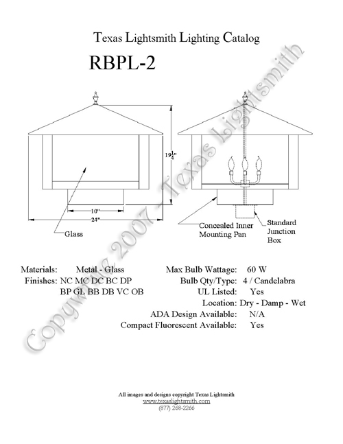 RBPL-2 spec drawing