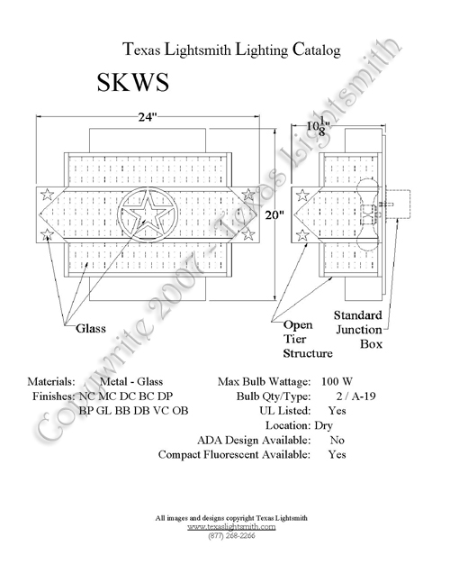 SKWS Spec Drawing