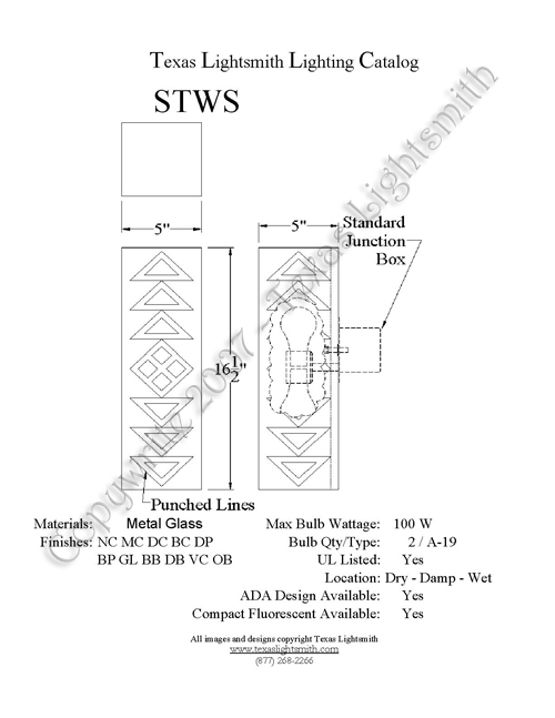 STWS Spec Drawing