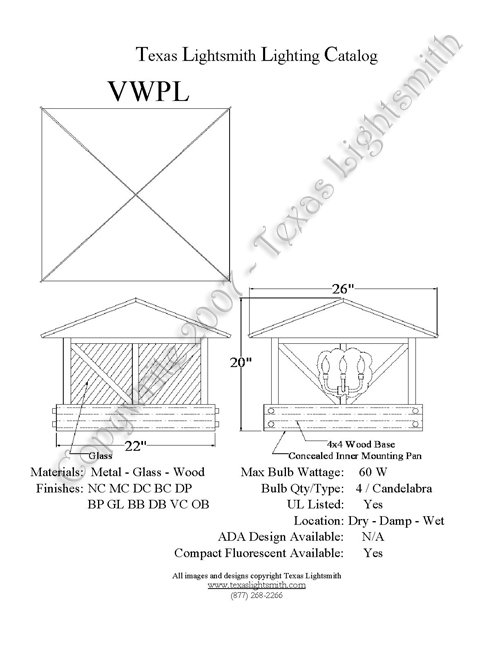 VWPL spec drawing