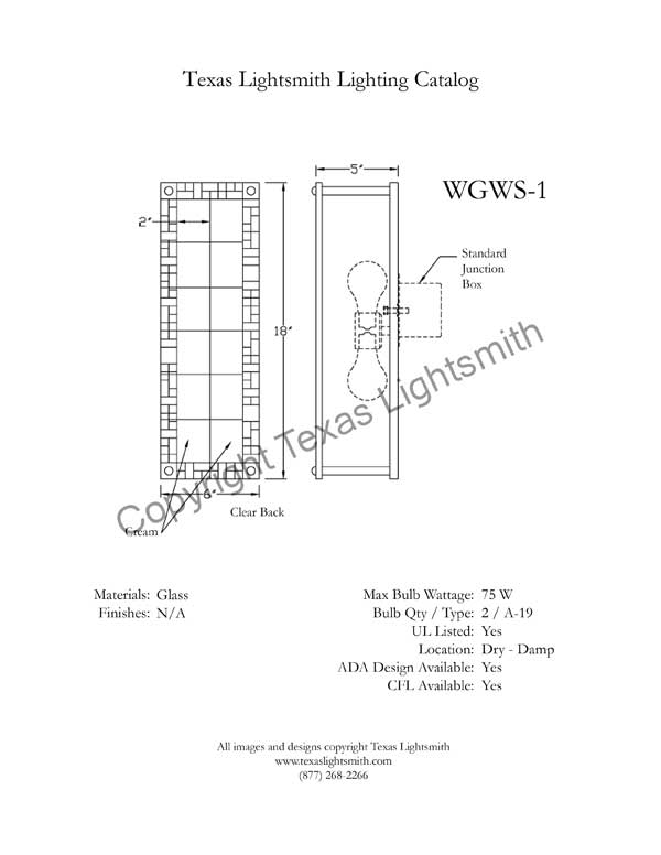 WGWS Spec Drawing