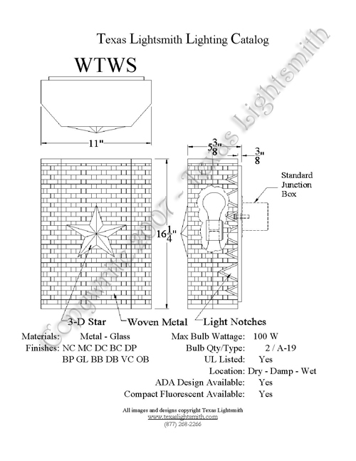 WTWS Spec Drawing