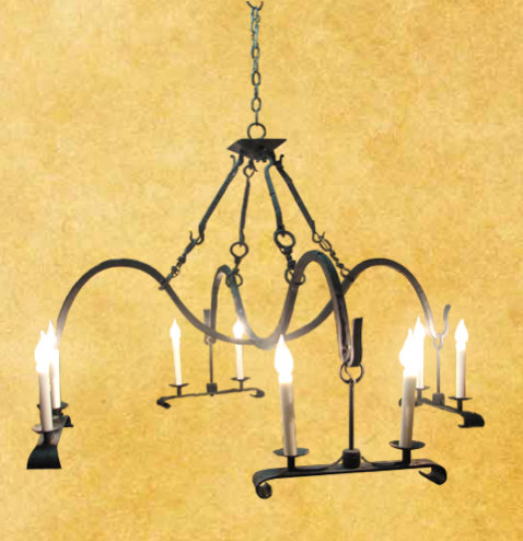 Wrought Iron Chandelier Photo Pictures To Pin On Pinterest
