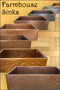 Apron Sinks: Copper, Brass, Bronze, Nickel Silver