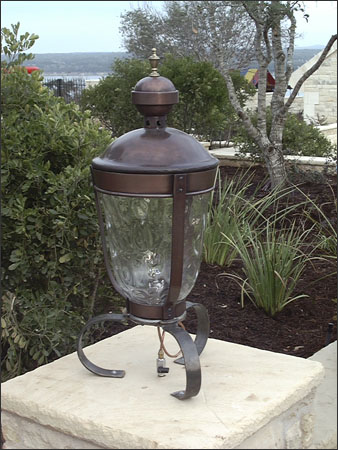 Private Residence 12 - Claudius Post Lantern