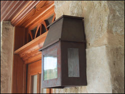 exterior lighting at Private Residence #16