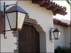 exterior lighting at Private Residence #19