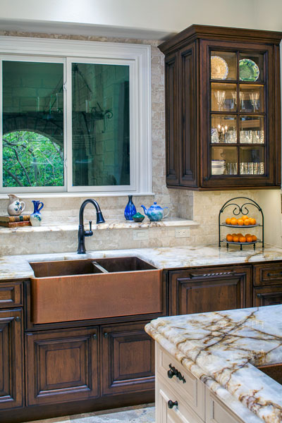 Custom Double Basin Sink - Private Residence 28
