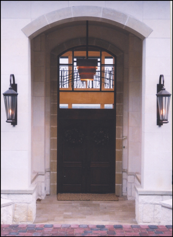 Private Residence 3 - front entrance