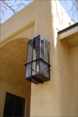 Private Residence 5 - Custom Gas Lantern