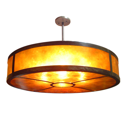 Lighting Pendant Light Fixture Bppf 1 2 Copper And Mica