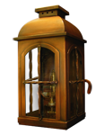 copper post lantern ABGL-2