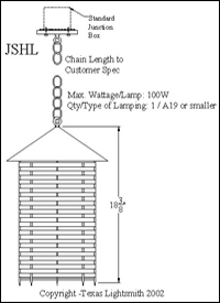 JSHL spec drawing
