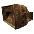 custom bronze range hood Texas Lightsmith Model #24, A