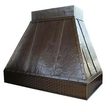 Range Hood Model 7 In Copper Brass Steel Oil Rubbed Bronze Or Nickel Silver