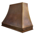 custom bronze range hood Texas Lightsmith Model #4, A - variation 4