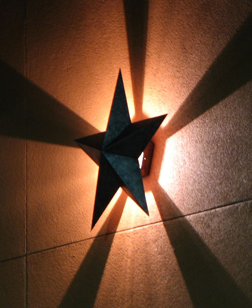 Wall Sconce With Star : Lighting STRWS1-3